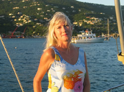 Crewed yacht charters in the Caribbean with Sue Russell